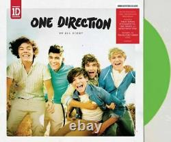 1 One Direction Up All Night Exclusive Limited Edition Green Color Vinyl LP