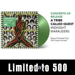 A Tribe Called Quest Midnight Marauders Exclusive Green Vinyl LP with Postcard