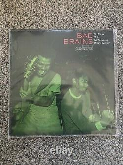 BAD BRAINS Self-Titled Ltd Ed PUNK NOTE Edition Green Vinyl LP #/1000