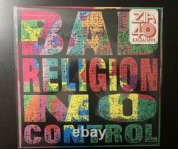 Bad Religion No Control Lime Green Vinyl! Zia Records 40th Anniversary! Sealed