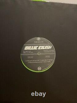 Billie Eilish Third Man Records Live 12 Vinyl Record Limited Green Detroit TMR