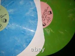 Blink 182 The Mark, Tom & Travis Show Limited Edition 2x Colored LP green blue
