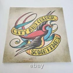 CITY AND COLOUR Sometimes 2X LP Vinyl alexisonfire. Dallas green 2011 SEALED