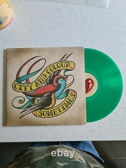 City And Colour Vinyl Rare Dallas Green And Red LP Music sometimes record