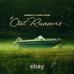 Curren$y & Harry Fraud The Outrunners GREEN SWIRL COLORED Vinyl LP x/500 NEW