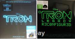 Daft Punk Tron Legacy & Reconfigured Coloured Double LP RSD 2020 New Boundle