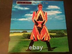 David Bowie Earthling Vinyl (Green) Limited press of 2,000 NM, details below