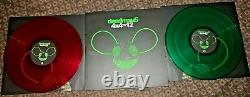 Deadmau5 4x4=12 Red Green 2xLP Vinyl NM RARE /1000 OOP Sold Out 2016 Mau5trap