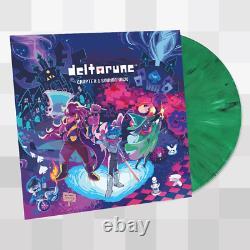 Deltarune Chapter 1 Video Game Vinyl Record Soundtrack LP Green Undertale