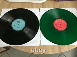 Depeche Mode Exotic Tour Rare Colored Live 2x12 Vinyl Records Green 1994