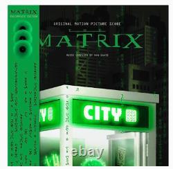 Don Davis The Matrix Complete Edition Triple LP Coloured Green Vinyl RSD2021
