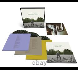 GEORGE HARRISON ALL THINGS MUST PASS 50TH BOXSET GREEN SPLATTER 3x VINYL LP NEW