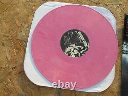Green Day Awesome As Fk PINK VINYL 2x180 grams RARE With POST CARD