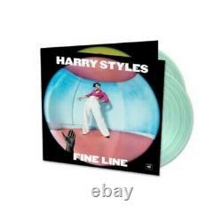 Harry Styles Exclusive Fine Line Vinyl 2LP (Limited Coke Bottle Green Color) New