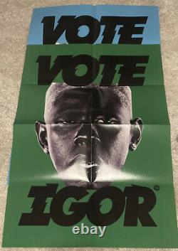 IGOR LP Vinyl- Tyler The Creator With POSTER, BLUE OR GREEN