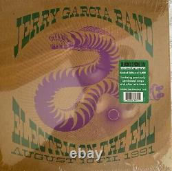 Jerry Garcia Electric On The EEL Limited Edition Vinyl Green Sticker Sealed