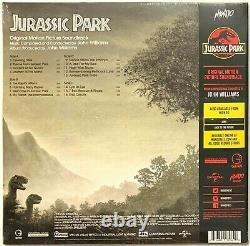 Jurassic Park Soundtrack Translucent Green LP Vinyl Record Album Sealed 180g