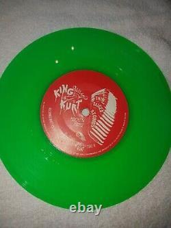 King Kurt Zulu Beat green ltd Edition Hand Drawn Meteors Psychobilly RARE
