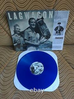 LAGWAGON Blaze UNPLAYED NEW BLUE VINYL LP non 7 cd green nofx rancid day afi