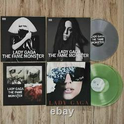 Lady Gaga The Fame Monster 3LP Vinyl (Silver + Coke Bottle Clear) SOLD OUT