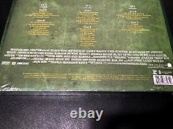 Lord Of The Rings Return Of The King Soundtrack 6LP Vinyl Green LOTR NEW SEALED