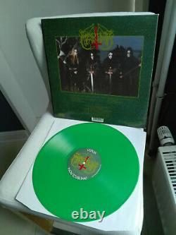 MARDUK limited 300 original green Vinyl LP Opus Nocturne (1994 Osmose Records)