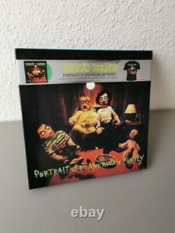 MARILYN MANSON original green Vinyl LP + T-Shirt BOX-Set Portrait Of (2009)