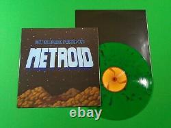 METROID Bit Brigade Vinyl LP Green Swirl Nintendo NES NOT MOONSHAKE VGM L63