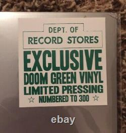 MF Doom Green Vinyl Limited Edition 151/300 Operation Doomsday RARE rhymesayers