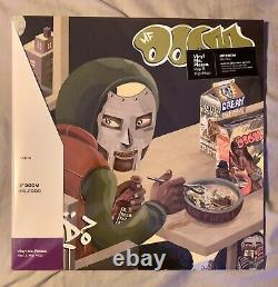 MF Doom MM. Food Vinyl Me Please VMP Record Green White Vinyl 2LP Rhymesayers