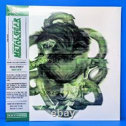Metal Gear Solid MGS Video Game Vinyl Record Soundtrack Green White 2 x LP