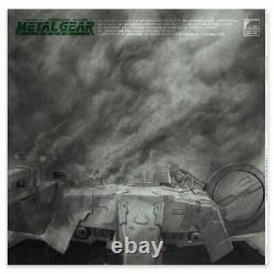 Metal Gear Solid Original Video Game Soundtrack Green Smoke Vinyl LP Record