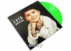 Mind of Mine Deluxe Edition by ZAYN 2 LP Neon Green Vinyl