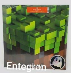 Minecraft Volume Alpha Soundtrack RARE Green Colored Vinyl LP 2015 Ghostly C418