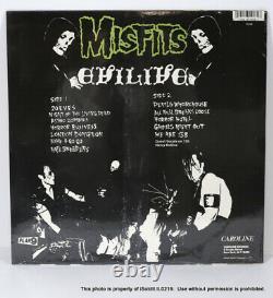 NEW THE MISFITS EVILIVE LP Green Colored Vinyl SEALED PL9-08 Plan9