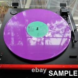 Neon Genesis Evangelion Finally Vinyl Record Soundtrack 2LP Green Purple IN HAND