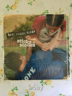 New Found Glory Sticks And Stones GREEN /500 TOUR PRESS vinyl record yellowcard