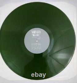 Nirvana Bleach 1989 UK 2nd Press Dark Green Vinyl LP Limited Edition 2000