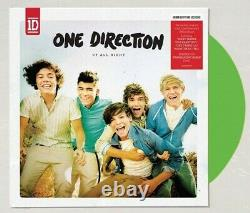 One Direction Up All Night LP Limited Translucent Green Vinyl Pre-Sale Ships 6/1