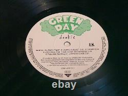 Original 12 Vinyl Record -1994 Green Day Dookie Rare Green Disk Lp 1st Press