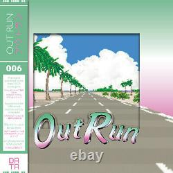 OutRun Soundtrack OST Vinyl Record LP Limited Mint Green Clear Pink (DATA DISCS)