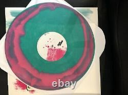 RARE! 2010 pressing Blink 182 ST Pink/Green swirl Vinyl Limited to 500
