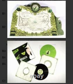 RARE Wicked 10th Anniversary Collectors Edition Green/Black Vinyl SEALED