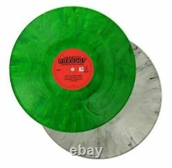ROBOCOP Soundtrack 2 LP Silver & Green Vinyl MONDO NEW & SEALED