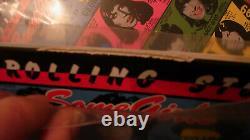 ROLLING STONES Some Girls pink blue green yellow Vinyl LP x4 ltd500