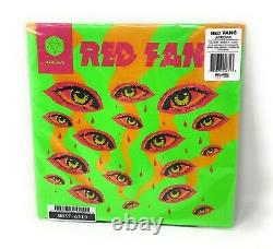 Red Fang Arrows Neon Green Liquid Filled LP Vinyl Record One Of Only 100 Made