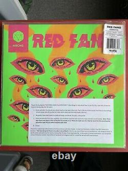 Red Fang Arrows RARE Neon Green Liquid Filled Vinyl IN HAND! LTD To 100
