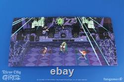 River City Girls Limited Run Vinyl Record Soundtrack 2x LP Blue & Green Fangamer