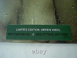 SKY FERREIRA Night Time, My Time sealed US 2013 limited edition green vinyl LP