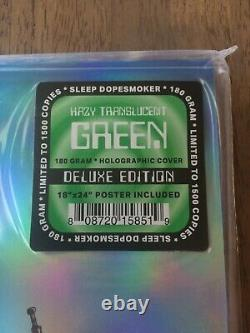 SLEEP DOPESMOKER Hazy Translucent Green 2XLP Vinyl Deluxe Holographic Edition